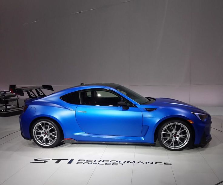 2016 Subaru Brz Sti Side View