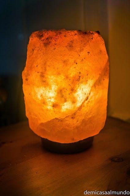 Por qué poner una lámpara de sal del Himalaya en tu vida | De mi casa al mundo