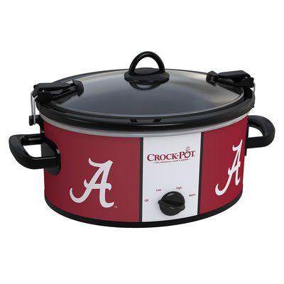 Alabama Crimson Tide Collegiate Crock-Pot® Cook & Carry™ Slow Cooker - Crock-Pot