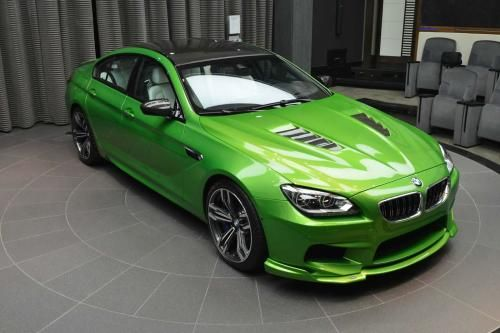 2015 BMW M6 Gran Coupe Java Green Wallpaper
