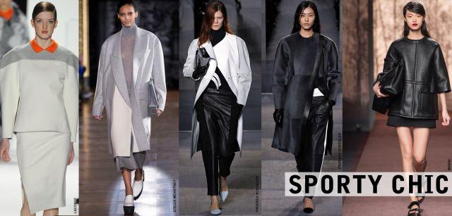 Trend watch - sporty chic on http://thefashionsuburbs.blogspot.it/2014/03/trend-watch-tendenze-fall-winter-201314.html chiaragirivetto2013 @ all rights reserved