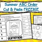 Download this FREEBIE and let students practice their alphabetizing skills using vocabulary about summer. Summer ABC Order Cut and Paste Printable—...
