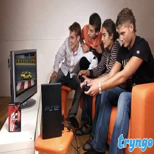 Qui est partant pour un jeu! Obtenez cette super #Playstation2, partagée at #tryngo