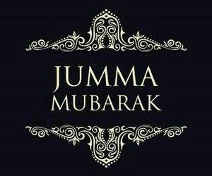 Jummah Mubarak :)