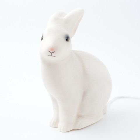Heico - white rabbit lamp - Sunday in color // Sunday in color