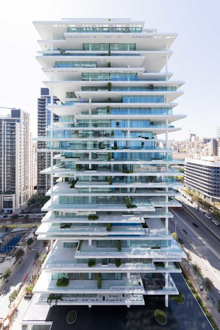 Herzog & de Meuron, Iwan Baan · Beirut Terraces