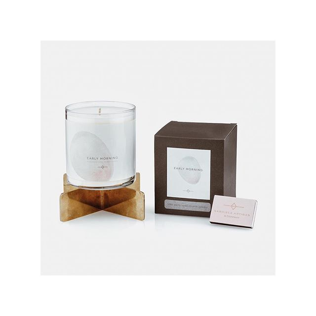 #GabrielaArtigas : We wanted to explore a new lifestyle category this holiday season so we have introduced a candle set complete with a bold, contemporary, cross-shape brass candle trivet and pink matches. The rose scent is inspired by my morning beauty ritual which features essential oils. We burn candles in our showroom on La Cienega every day so we wanted the scent to be evocative, but never overwhelming, so it can be burnt from morning until night. Read our interview with @ladyartigas in…