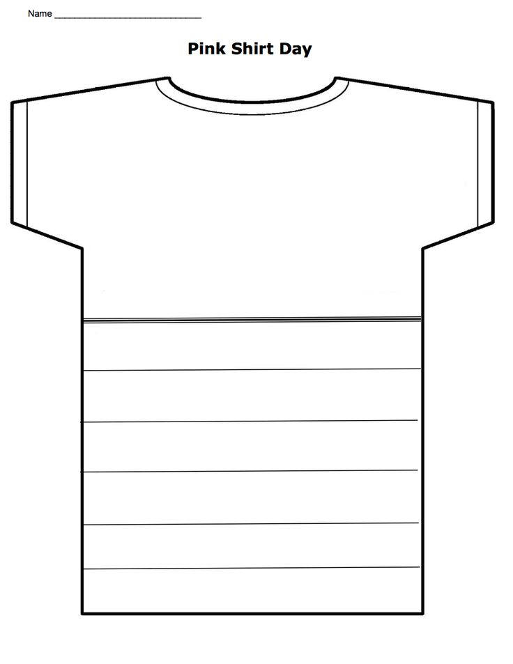 Create your own pink shirt! Download this for free. http://www.witsprogram.ca/pdfs/pink-shirt.pdf