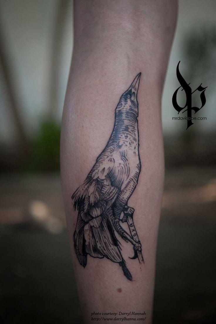 Grackle mrdavidpoe tattoo artist austintx tattoo