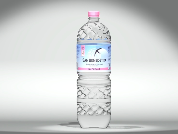 Water bottle image created using Siemens PLM NX, with its integrated LightWorks Rendering engine. Image Copyright © LightWork Design 2008, and Acqua Minerale San Benedetto S.p.A.