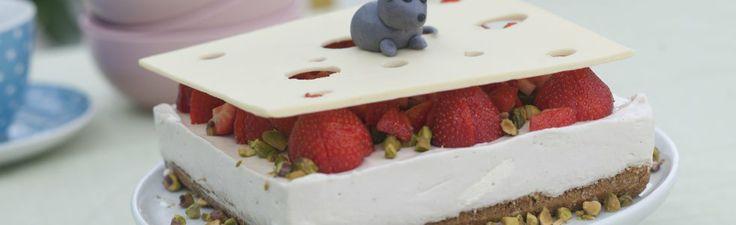 Musete ostekake med hvit sjokolade | TV3 Mat