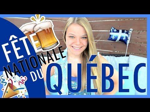 FÊTE NATIONALE DU QUÉBEC! (La St-Jean-Baptiste) - YouTube