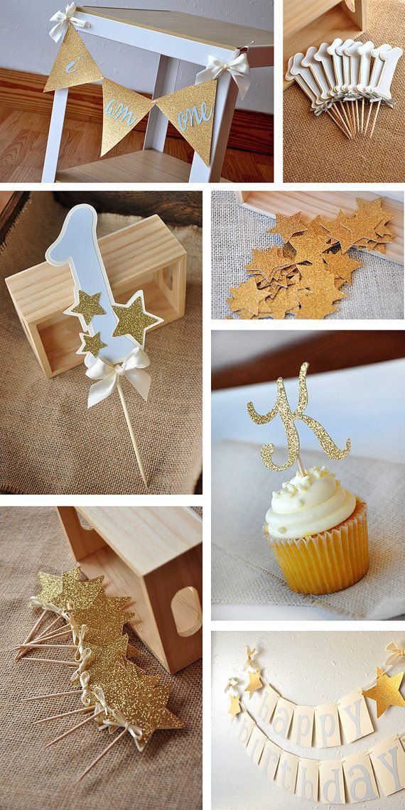 Twinkle Twinkle Little Star Cake Topper ships by courtneyorillion