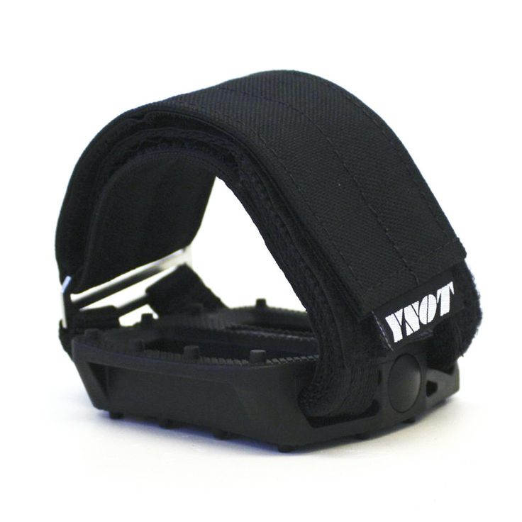 YNOT Cycle | Pedal Straps - Black