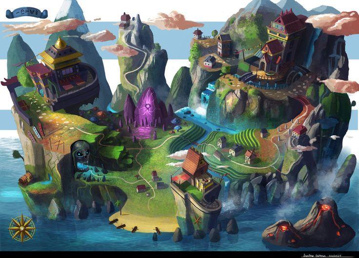 Game Map by JonathanDufresne.deviantart.com on @DeviantArt