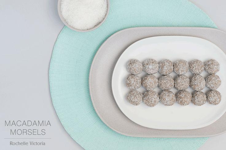 RAW BITES RECIPE | Macadamia Morsels Raw Treats Healthy Eating Refined Sugar Free
