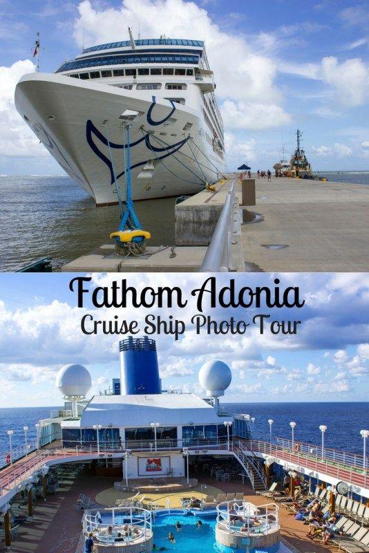 Fathom Adonia Cruise Ship Photo Tour