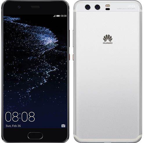 Huawei P10 Plus - alb_negru