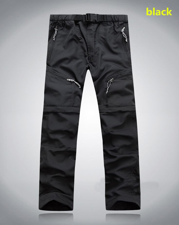 Men's quick-drying Leisure Removable Legs Waterproof pants - Loluxe - 2
