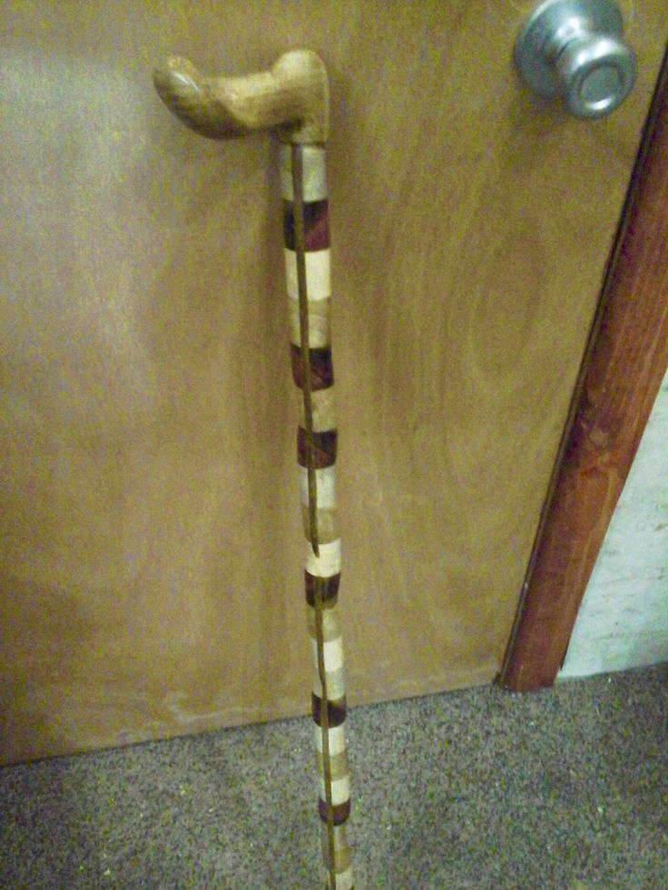 My custom cane, from Lenny's Canes in Janesville, WI