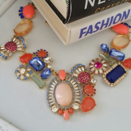 Candy Crush - R200. Statement Necklace Trend ♡ Email zulululuza@gmail.com for the latest catalogue.