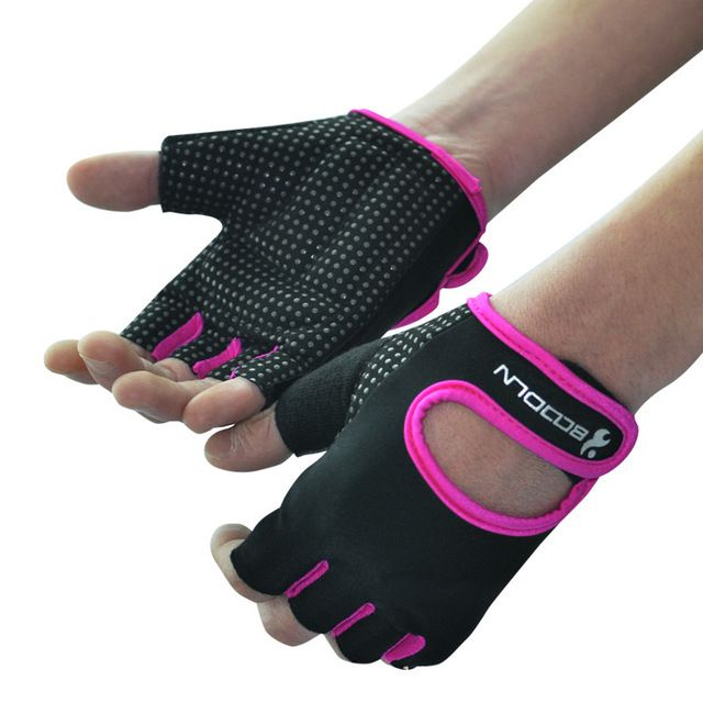 【 $9.59 & Free Shipping 】Crossfit Weight Lifting Gym Gloves for men and women fitness exercise equipment Wear non-slip Sports Safety weightlifting   worth buying on AliExpress