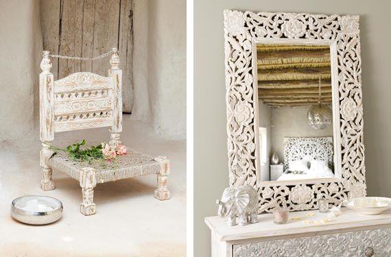 Decoraci n marroqu en tonos fr os colores for Decoracion hogar santiago