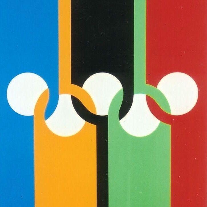 Bauhaus Movement Magazine           - Max Bill Olympische Ringe, 1970