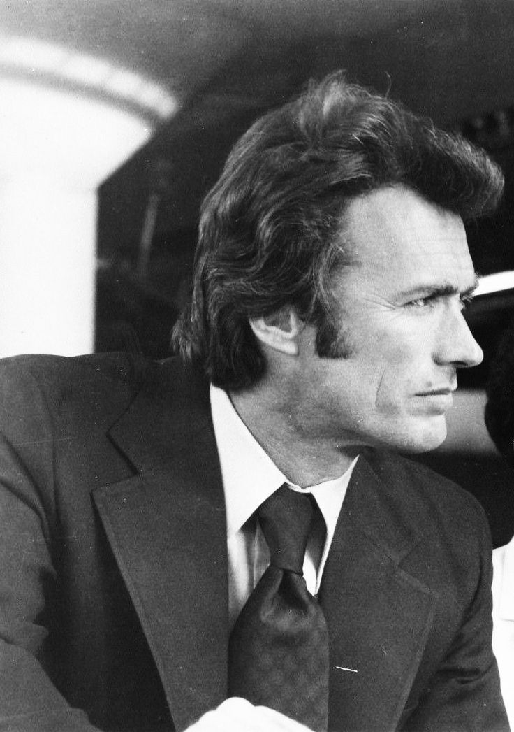"Clint on the set of ""Magnum Force"", 1973."