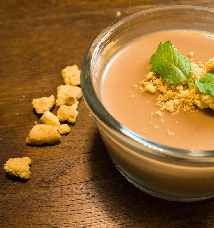 eine leckere schokoladen maronen panna cotta die zu jeder jahreszeit gut schmeckt - Wie Man Einen Kaffeetisch Fr Den Herbst Schmckt