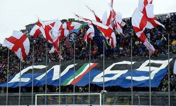 Curva Nord Inter - Frosinone 0 -Inter 1 9/04/2016