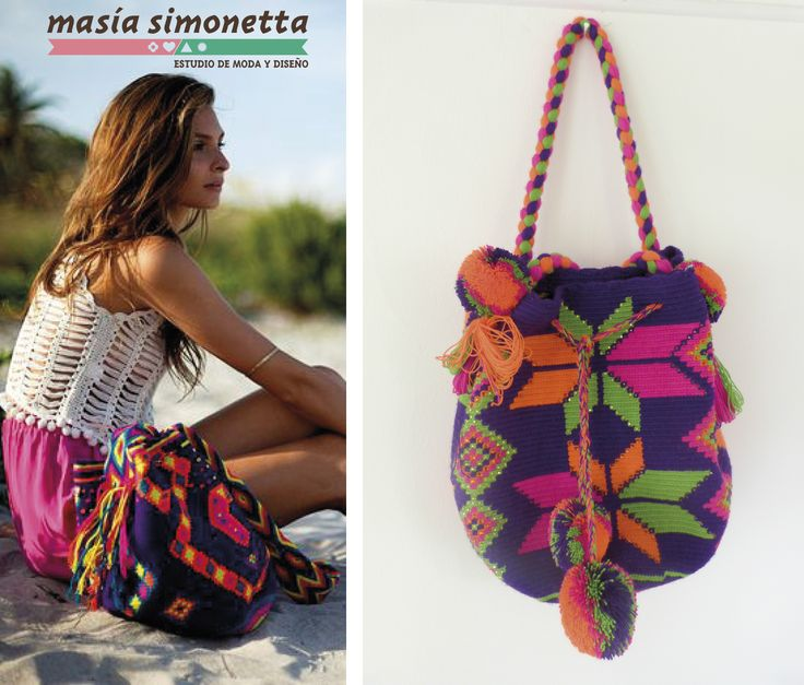 #colombiandesigner #wayuubag #wayuu #handmade #boho #summertrends #colombia Join us at Facebook https://www.facebook.com/MASIASIMONETTA/ Istagram @masiasimonetta