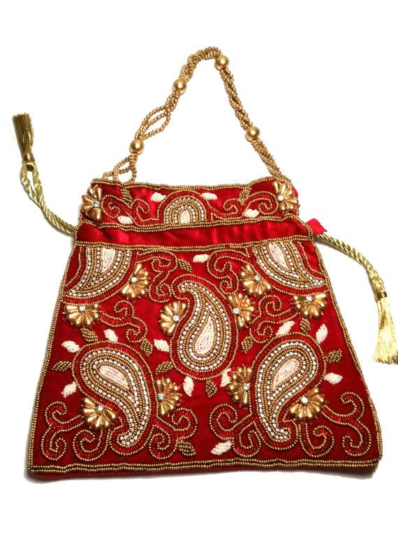 274 Best Indian Wedding Purse U0026 Clutches Images On Pinterest | Hand Bags Clutch Bag And Satchel ...
