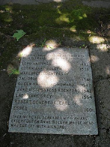Stone Execution names that took place in London. | Flickr - Photo Sharing!