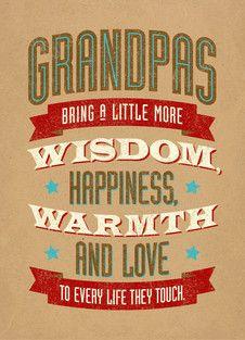 Grandpas Wisdom