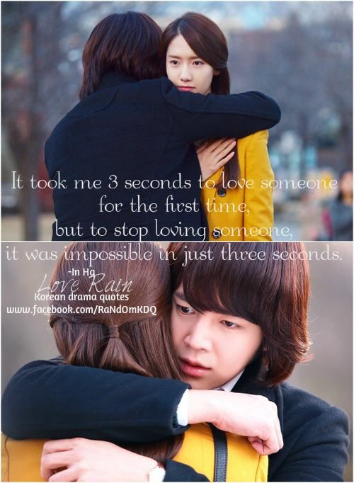 #loverain this seriel had some of the best quotes...ani love lessons
