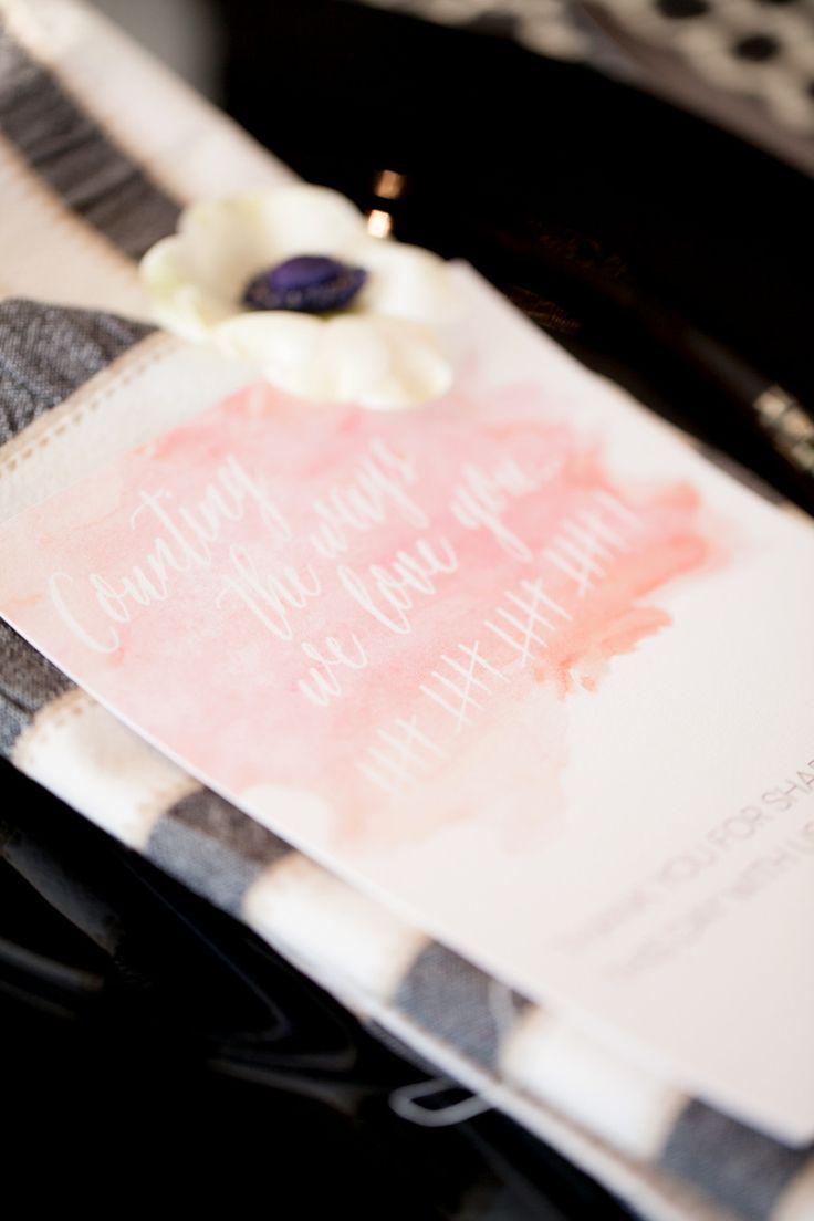 Black and Blush wedding decor - Black blush and White wedding Ideas | fabmood.com