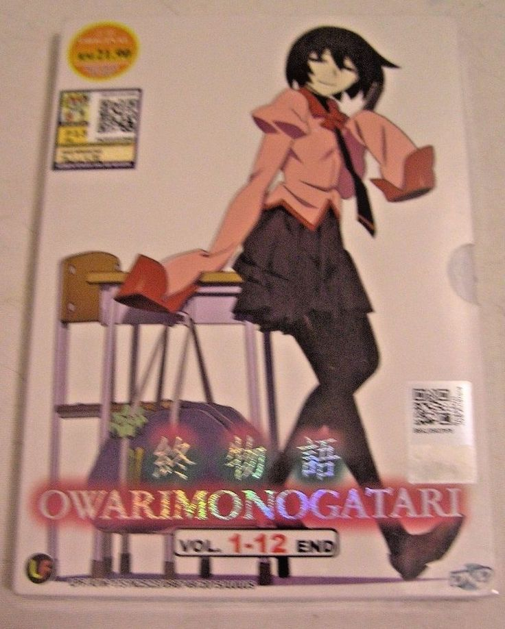 Owarimonogatari  VOL. 1-12 END Japanese Anime DVD  Brand New