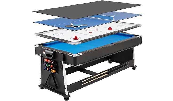 3 in 1 Pool/Air Hockey/Table Tennis Multi Game Table, read reviews and buy online at George at ASDA. Shop from our latest range in Kids. The Mightymast Leisu...