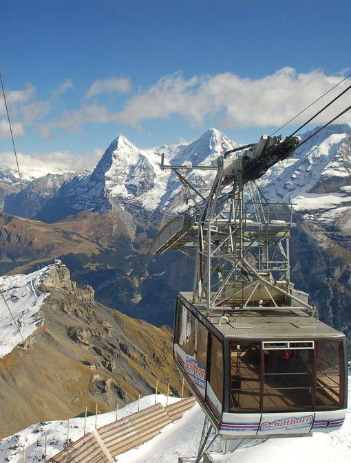 #Schilthorn_Cable_Car in #Bern - #Switzerland http://en.directrooms.com/hotels/subregion/2-6-29/ @ahmedmasarwah