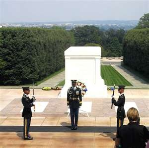 Changing of the Guard, Arlington Cemetary- Something everyone should witness at least once!