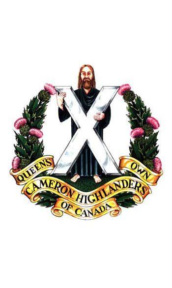 Queens Own Cameron Highlanders of Canada.