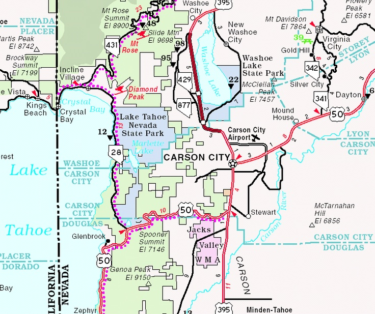 Image Detail For Carson City Nevada Location Map KB GIF - Nevada city map