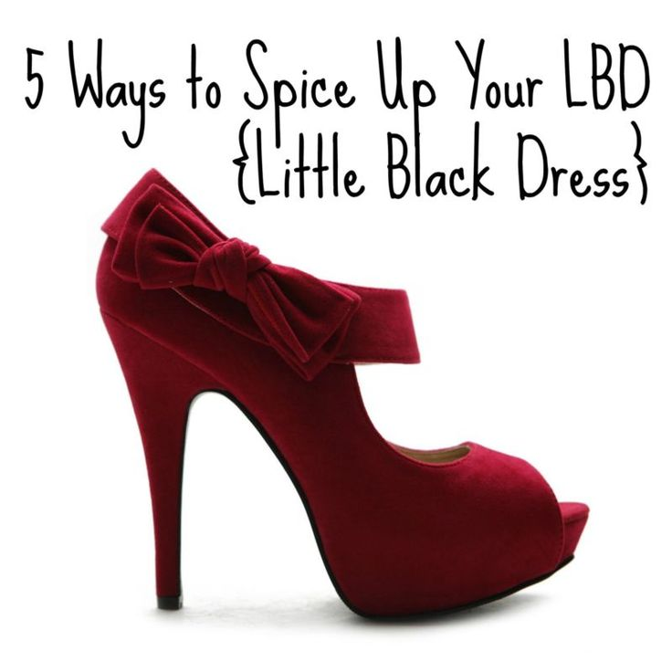 5 Ways to Spice Up Your #LBD {Little Black #Dress} #holiday #fashion #eBayGuides #ad http://tinyurl.com/kzmd9z2