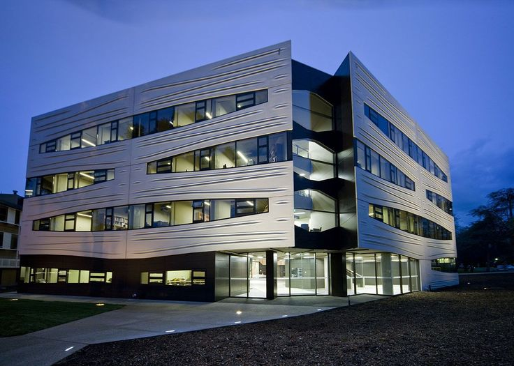 Australian National University, Hedley Bull Centre in Australia by Lyons Architecture