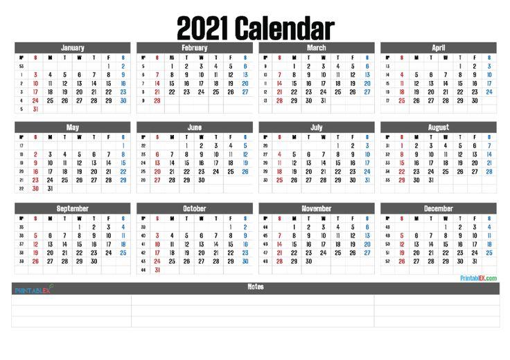 Pin On 2021 Printable Calendar