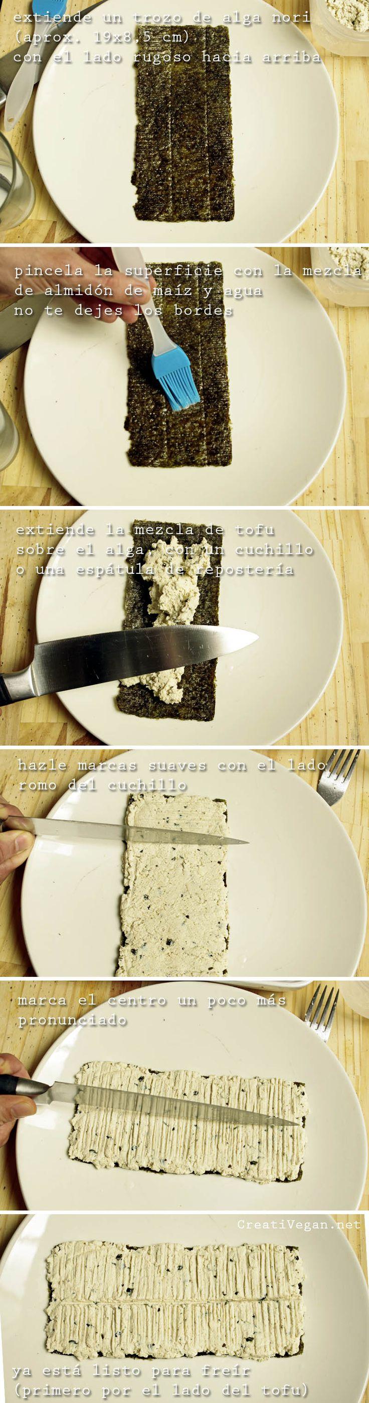 facil! Tutorial pescado vegano de tofu - unagi modoki