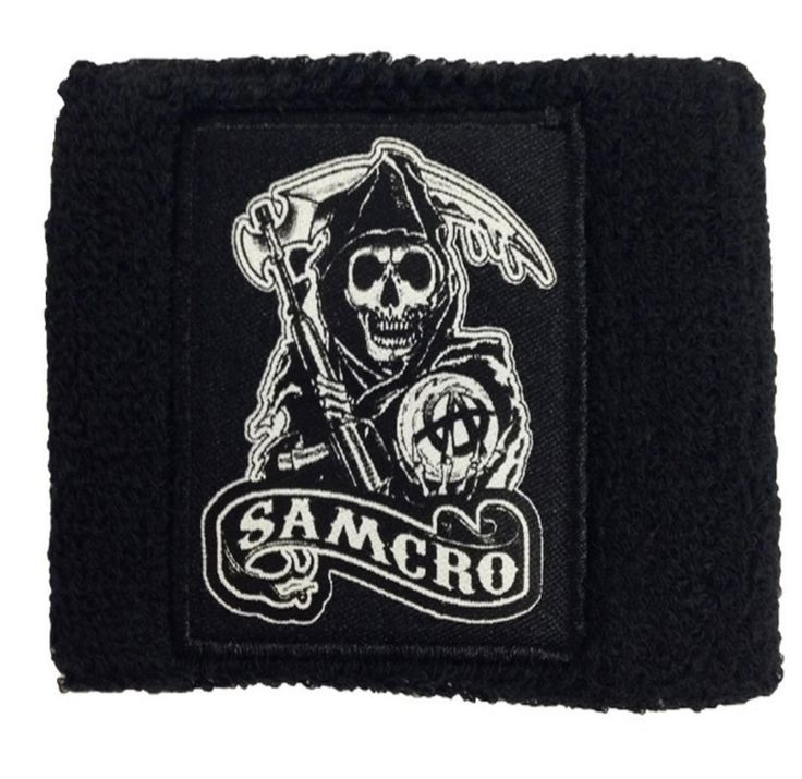 177 best sons of anarchy merchandise images on pinterest sons of sons of anarchy collectibles official merchandise sons of anarchy reaper samcro sweatband black fandeluxe Image collections