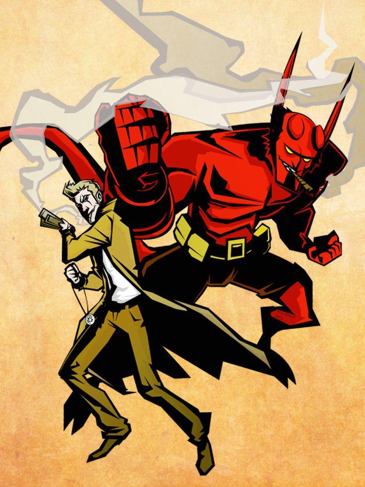 John Constantine & Hellboy - m.ENGER