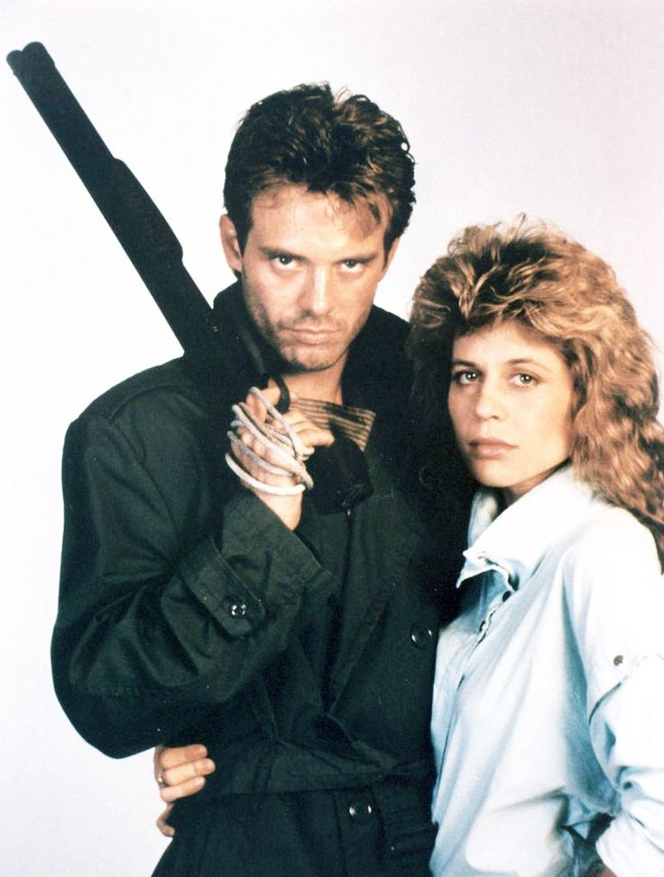 Michael Biehn and Linda Hamilton for The Terminator, 1984. Via http://hollywoodlady.tumblr.com/
